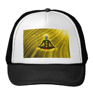 Meditation Chakras Mesh Hats