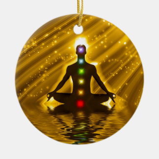 Meditation Christmas Ornament