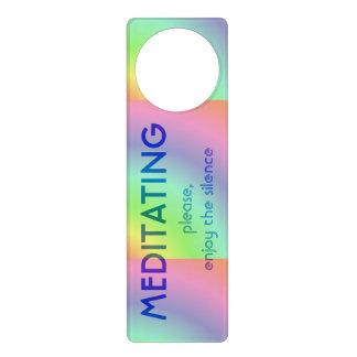 Meditation Doorknob Hanger