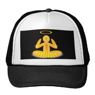 meditation halo hat
