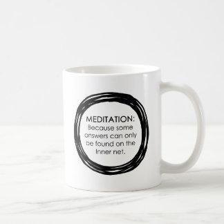 Meditation Inner Net Mug