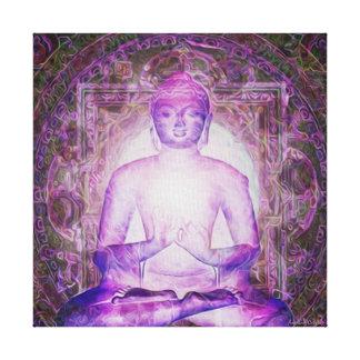Meditation Light Canvas Print