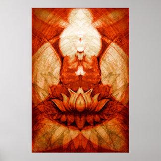 Meditation Lotus4 Poster