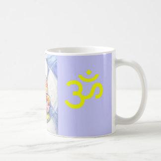 Meditation Lotus Basic White Mug