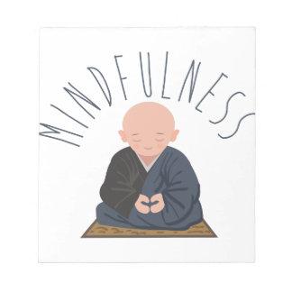 Meditation Mindfulness Notepad