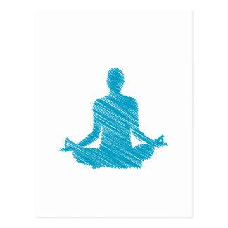 Meditation Postcard