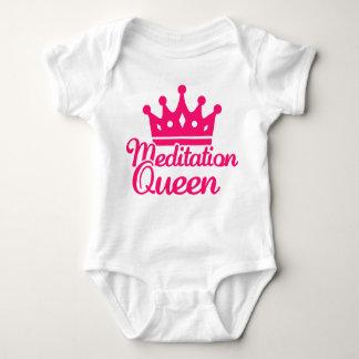 Meditation queen tee shirt