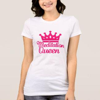 Meditation queen tshirt