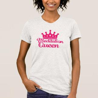 Meditation queen t shirt