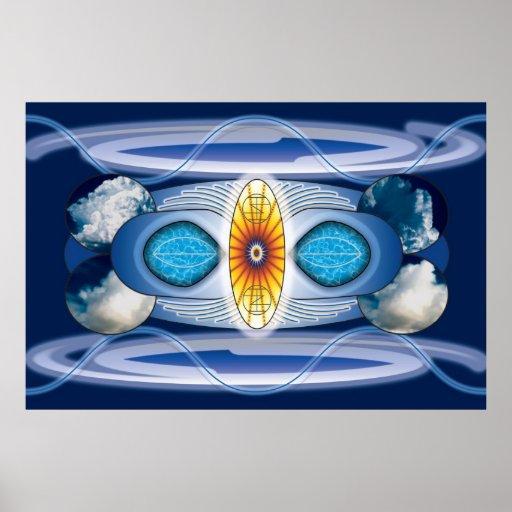 Meditation Sigil Poster