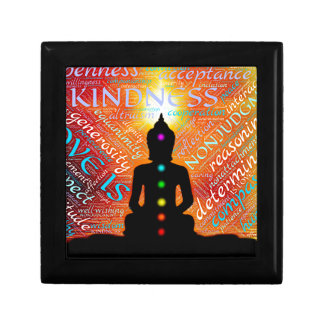Meditation Small Square Gift Box