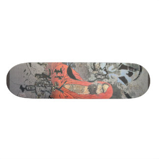 Meditation through constant peace 20.6 cm skateboard deck