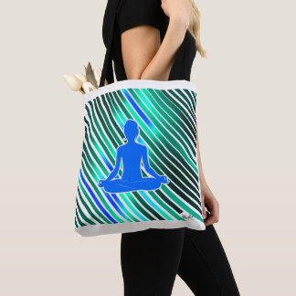 Meditation Vibes (Blue) Tote Bag