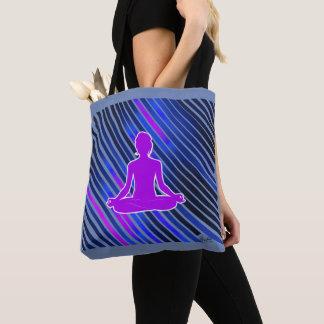 Meditation Vibes (Purple) Tote Bag