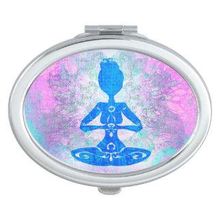 Meditation Yoga compact mirror
