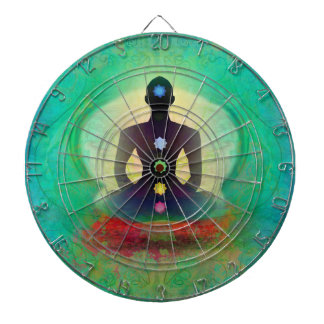 Meditation Yoga Dartboard