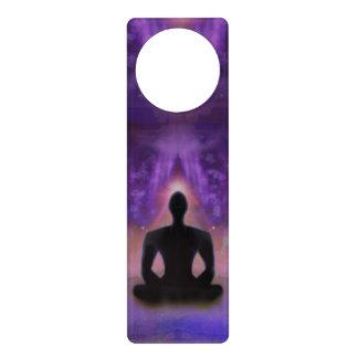 Meditation Yoga Door Hanger