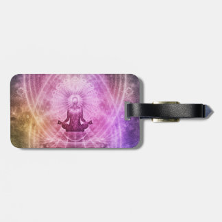 Meditation Yoga Faith Luggage Tag
