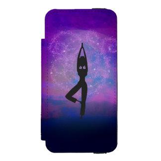 Meditation Yoga iPhone 6 Wallet Case Incipio Watson™ iPhone 5 Wallet Case