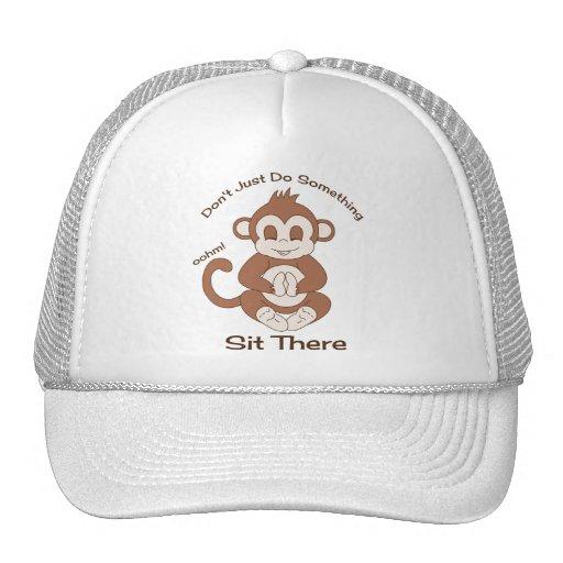 Meditation Yoga Monkey Mesh Hats
