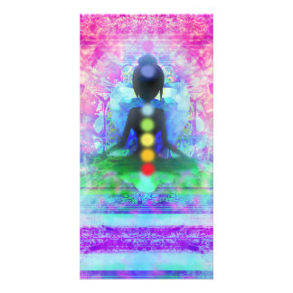 Meditation Yoga Photocard Personalized Photo Card
