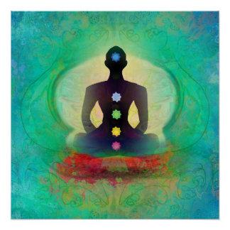 Meditation Yoga Poster