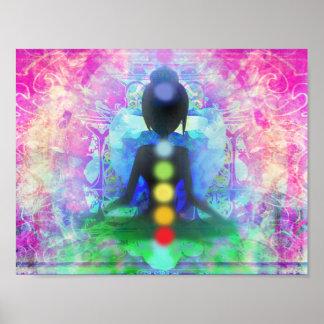 Meditation Yoga Poster Paper