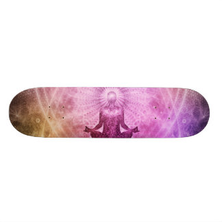 Meditation Yoga Style 21.3 Cm Mini Skateboard Deck