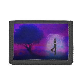 Meditation Yoga wallet