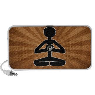 MEDITATION YOGA YIN YANG iPod SPEAKERS