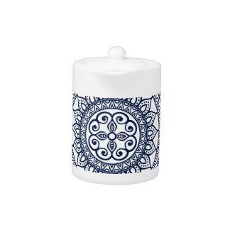 Meditative floral Mandala ornament abstract design