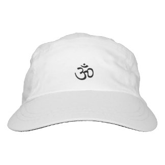 Meditative positive vibe performance hat. hat