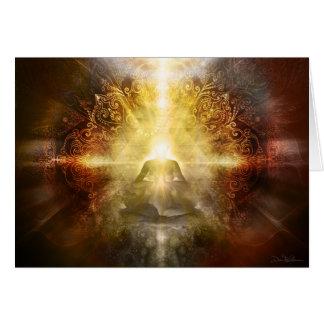 Meditator Brown Card