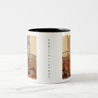 Mediterranean Balcony Mug