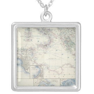Mediterranean Basin Silver Plated Necklace