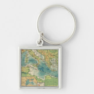 Mediterranean, Black Sea cables, wireless stations Key Ring