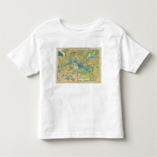 Mediterranean, Black Sea cables, wireless stations Toddler T-Shirt