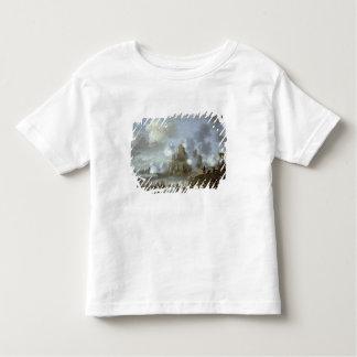 Mediterranean Castle under Siege from the Turks Toddler T-Shirt