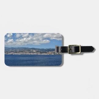 Mediterranean Coast Luggage Tag
