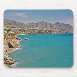 Mediterranean Coast of Spain Mouse Mat