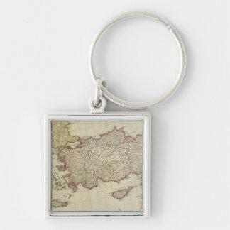 Mediterranean East Key Ring