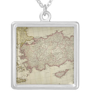 Mediterranean East Silver Plated Necklace