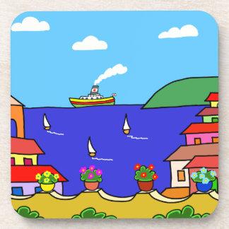 Mediterranean Holiday Coaster