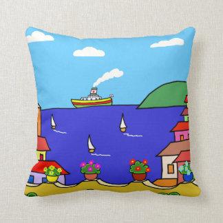 Mediterranean Holiday Cushion