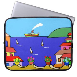 Mediterranean Holiday Laptop Sleeve