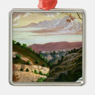 'Mediterranean Landscape' by Prosper Merimee Christmas Ornament