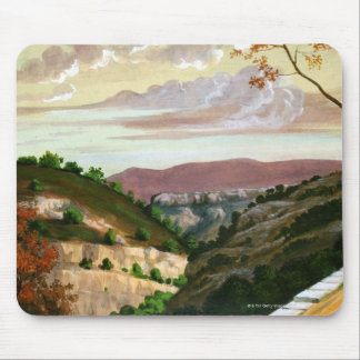 'Mediterranean Landscape' by Prosper Merimee Mouse Mat