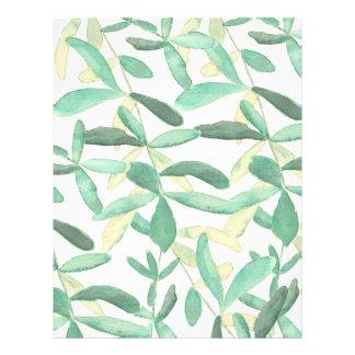 Mediterranean | Modern Foliage DIY Envelope Liner Flyer