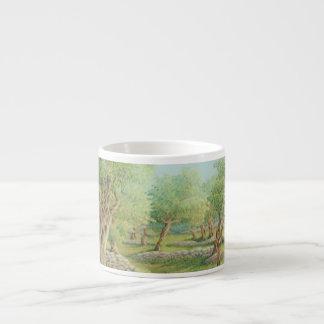 Mediterranean Olive Grove, Spain Espresso Mug