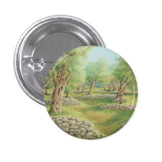 Mediterranean Olive Grove, Spain in Pastel Badge
